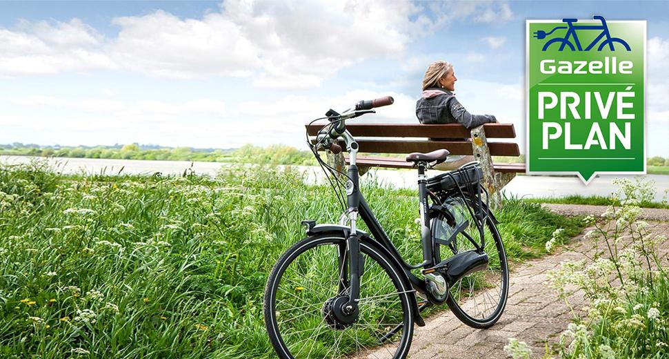 Jouw elektrische fiets voor € 54,- per maand