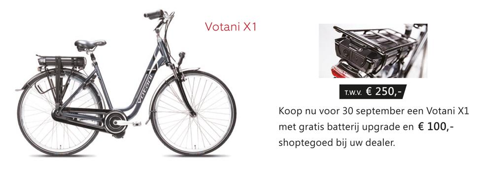 Votani X1 zomeractie