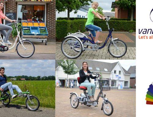Van Raam aangepaste fietsen bij Schous