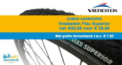 Zomeraanbieding - Vredestien Flex Superior € 29,95