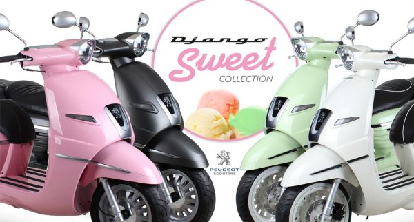Django Sweet Collection Peugeot Scooters